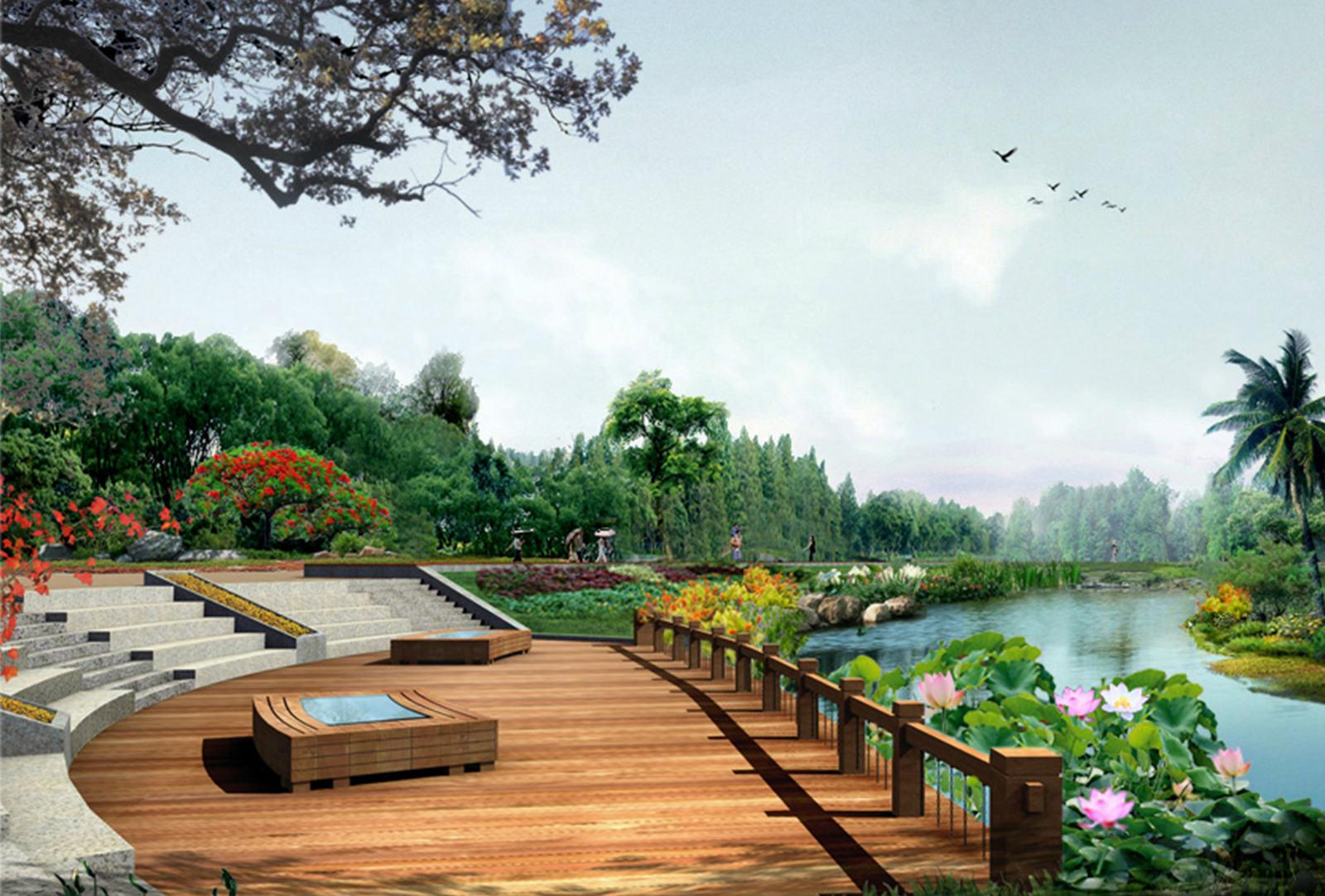 花海聚龙山生态公园